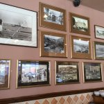 Nice feature wall of old pictures
