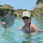 Take a swim in Rachel's Bubble Bath on Compass Cay