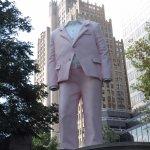 pink tuxedo man