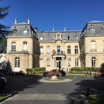 The stunning Chateau Les Crayere