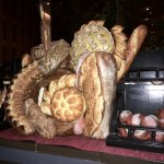 The extraordinary bread trolley @ the Guy Savoy!