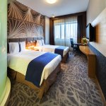 Stardard twin bed room