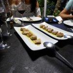 Tuna and soy tapas