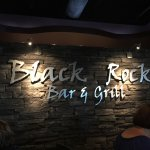 Photo of black rock bar and grill