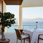 Lindos Blu Five Senses Fine Dining Terrace