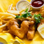 The Compound Restaurant - Halibut Fish & Chips