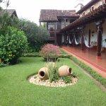 Jardines y galería interior