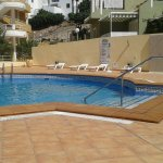 Smaller quieter pool, great for couples, older people