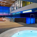 Whirlpool at Spa Area of DoubleTree by Hilton Zagreb