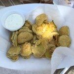 Fried pickles at Al Fresco Food Trailers, Pensacola FL