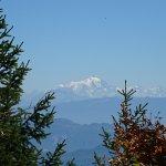 vue d inimont sur le mont blanc