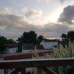 Vue de la terrasse (petit déjeuner/déjeuner/diner)