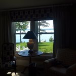 Lake Cayuga right outside our room
