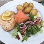 Excellent sea food salad