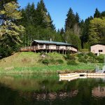 Our Waterfront House sits high on a hill overlooking gorgeous Loon Lake