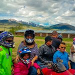 Group on ATV Adventure