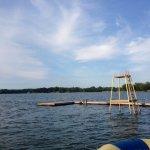 a good old-fashioned diving platform