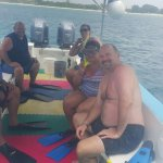 Great day snorkeling !  Only in Cozumel