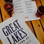 Beer tasters and the menu