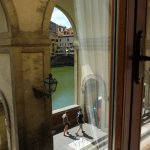 Partial view of the Arno from room