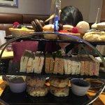 Afternoon tea at Strand Palace