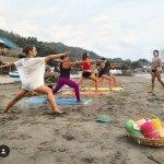 Beach Yoga every Saturday