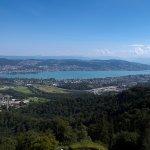 Zürich von Uetliberg