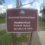 Blue Hole National Park is only 20 minutes away walking! $4 entrance fee.