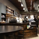 Counter Area at Starbucks University Way and 42nd St.