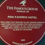 Pen Y Gwryd Hotel Foto