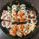 Sushi Man in Newton offers wonderful food to eat there or take out