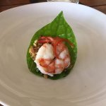 Prawn in betel leaf