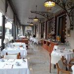 Speiseraum für Einzelreisende und Familien (Für Gruppen extra Speiseraum)