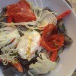 Petits raviolis aux olives, excellent