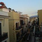 the street casa veneta is situated on