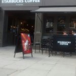 Starbucks Whiteley's internet cafe