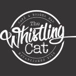 The Whistling Cat Cafe & Burger Bar Logo.