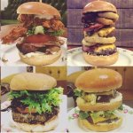 Some of the burgers we have on offer.
