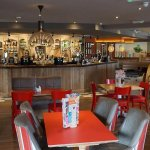 Spacious dinning at the 180 newly opened Miners Peg