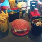 Menu hamburguesa