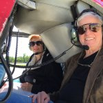 Here we are in the chopper.