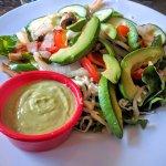 Avocado salad - delicious