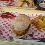 Waguy burger 200gr + fries
