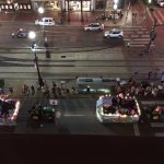 Parade on Friday Night-View from Room 504