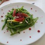...Bohnensalat mit Feigen
