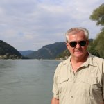 Enjoying walking the Danube