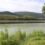 A barge on the Danube
