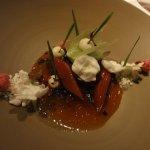 Fichtensprosse Rhabarber / Waldmeister / Joghurt