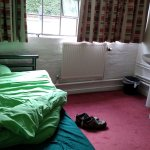Single room within the YHA Ironbridge-Coalport hostel