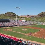 Close to Tempe Diablo Stadium for spring training games!